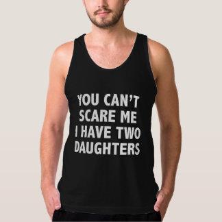 私に2人の娘がいる私をおびえさせることができません タンクトップ