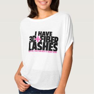私に3dがあります + 繊維の鞭 tシャツ