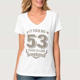 私に53年かかりました Tシャツ