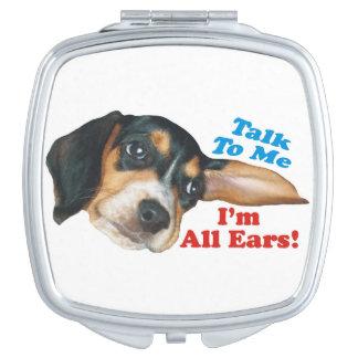 私に、私ありますすべての耳のビーグル犬の子犬が話して下さい