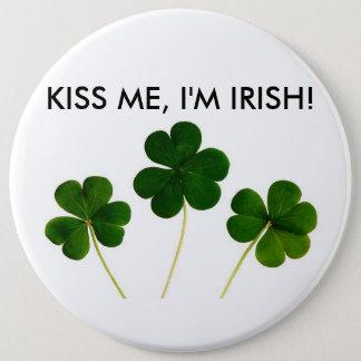 私に、私ありますアイルランドボタンが接吻して下さい 缶バッジ