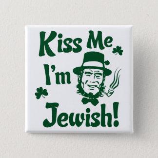 私に、私ありますユダヤ人が接吻して下さい 5.1CM 正方形バッジ