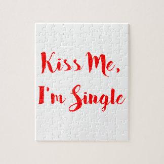 私に、私あります独身のが接吻して下さい ジグソーパズル