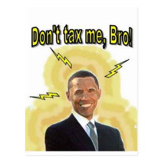 私に、Bro課税しないで下さい! ポストカード