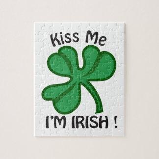 私に、Imアイルランド語接吻して下さい! ジグソーパズル