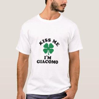 私に、Imジャコモ接吻して下さい Tシャツ