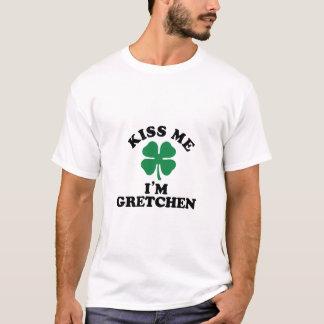 私に、Im GRETCHEN接吻して下さい Tシャツ