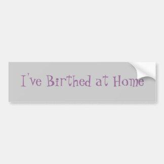 私にBirthedが家庭であります バンパーステッカー