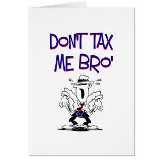 私にBro課税しないで下さい カード