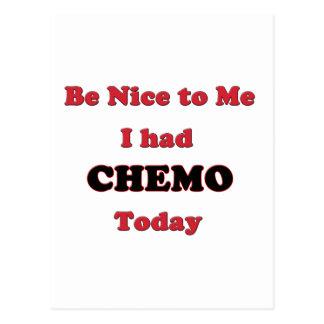 私にChemoが今日あった私にニースがあって下さい ポストカード