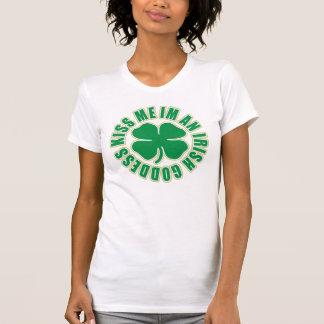 私にImアイルランドの女神接吻して下さい Tシャツ