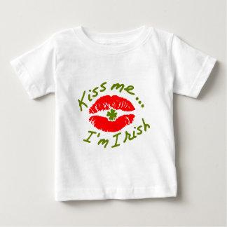 私にIMアイルランド語接吻して下さい ベビーTシャツ