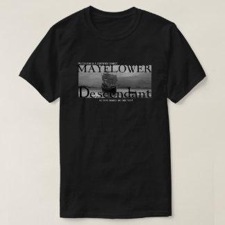 私のいとこはMayflowerの証明された子孫です Tシャツ