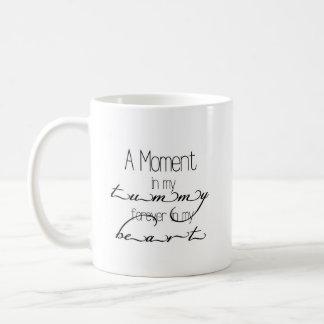 私のおなかのベビーのマグの時 コーヒーマグカップ