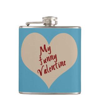 私のおもしろいなバレンタインのギフト フラスク