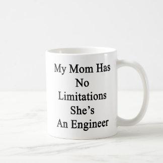 私のお母さんに彼女によってがエンジニアである限定がありません コーヒーマグカップ