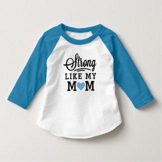 私のお母さんの男の子のように強い Tシャツ