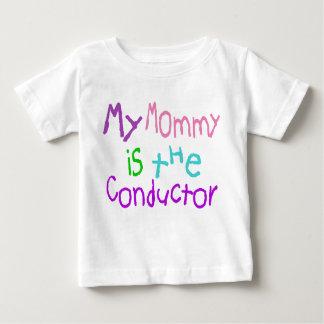 私のお母さんはコンダクターです ベビーTシャツ
