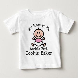 私のお母さんは世界の最も最高のなクッキーのパン屋です ベビーTシャツ