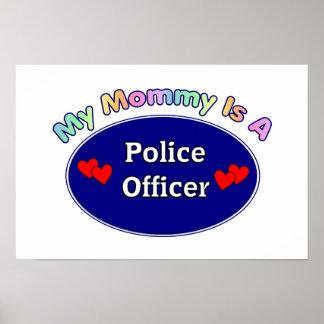 私のお母さんは警官です ポスター