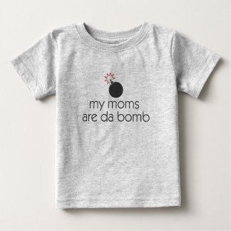 私のお母さんはdaの爆弾です ベビーTシャツ
