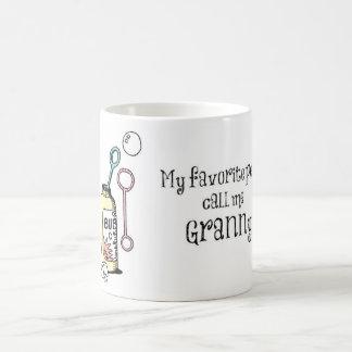 私のお気に入りのな人々のおばあさんのマグ コーヒーマグカップ