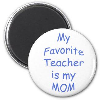 私のお気に入りのな先生は私のお母さんです マグネット
