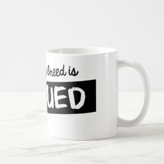 私のお気に入りのな品種は救助されます コーヒーマグカップ
