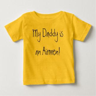 私のお父さんはパイロットです! ベビーTシャツ