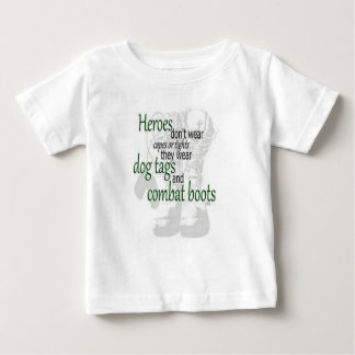 私のお父さんは英雄です ベビーTシャツ