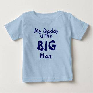 私のお父さんは、大きい人です ベビーTシャツ