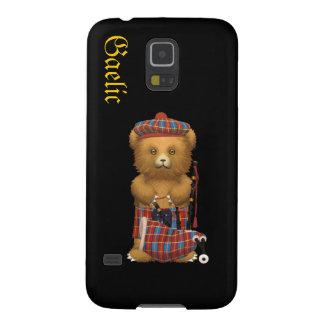 私のかわいいバグパイプのスコットランドのテディー・ベア-ゲール語 GALAXY S5 ケース