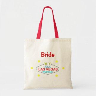私のすばらしいラスベガスの結婚式(花嫁)のバッグ トートバッグ