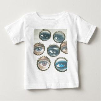 私のすべての目ベビーのワイシャツのクリーパー ベビーTシャツ