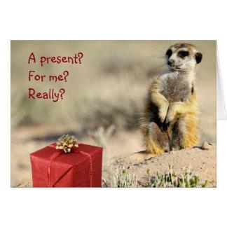 私のためか。 - KMPのクリスマスカード グリーティングカード