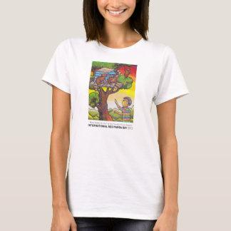 """""""私のために""""女性のティーを家に作って下さい Tシャツ"""