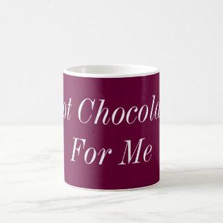 私のためのココア コーヒーマグカップ