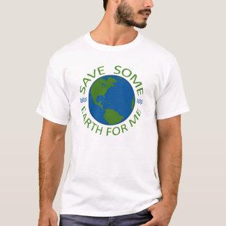 私のための地球を救って下さい Tシャツ