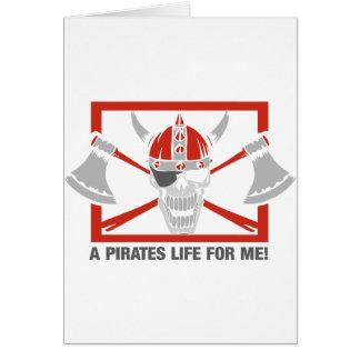 私のための海賊生命 カード