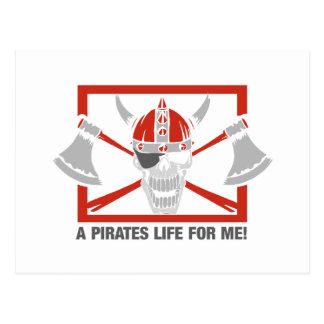 私のための海賊生命 ポストカード