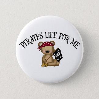 私のための海賊生命 5.7CM 丸型バッジ