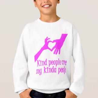 私のちょっと人々、ショッキングピンク スウェットシャツ