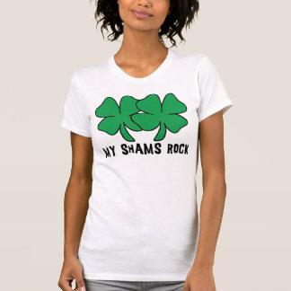 私のにせ物の石の女性 Tシャツ