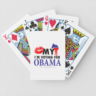 私のろばに、Im接吻しまオバマのために投票します バイスクルトランプ