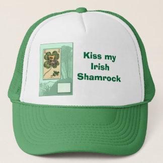 私のアイルランドのシャムロックに接吻して下さい キャップ