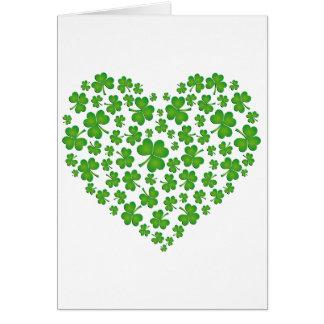 私のアイルランドのハート カード