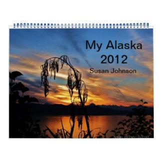 私のアラスカ2012年 カレンダー