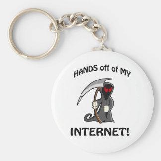 私のインターネットの手! キーホルダー