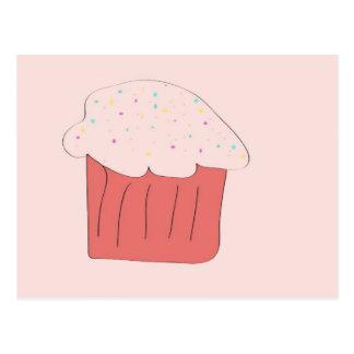 私のカップケーキです! ポストカード