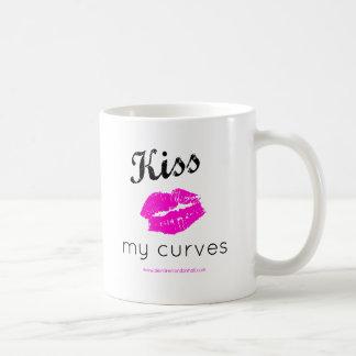 私のカーブの砂糖、新しいスワッグに接吻して下さい コーヒーマグカップ